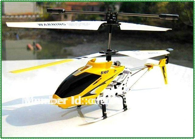 US $18 39 |Hot Sale SYMA S107G RTF S107 RTF 3CH Rc Helicopter mini metal  Heli,with GYRO & USB & Aluminum Fuselage+low shipping-in RC Helicopters  from
