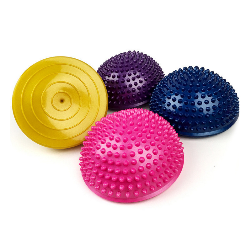 D06 Semi-circular massage yoga ball durian ball over the river stone touch children early education sense of the training  yoga balls massage   How To Use Massage Balls (Tutorial) D06 Semi circular font b massage b font font b yoga b font font b ball