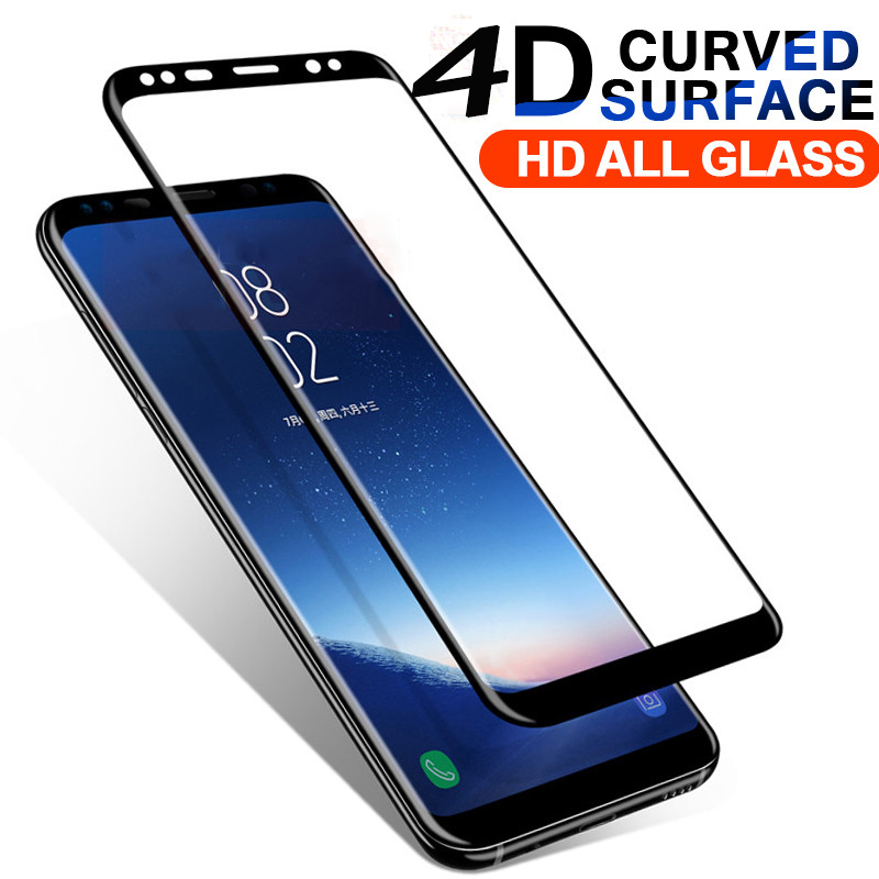 Tempered Glass For Samsung Galaxy S8 Plus Phone Screen Protector for S6 S7 Plus Edge High Clear Protective For Note 8 Film Case