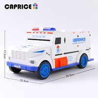 Tirelire numérique enfants jouet Tirelire économiser des boîtes de dépôt électronique Tirelire Enfant enfants argent comptant voiture pièce coffre-fort camion C00127