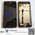 Испытано ЖК-экран + сенсорного экрана Digitizer Стекло Датчик Объектив + Рамка Рамка Для Asus Zenfone 5 A500CG A501CG A500KL + Отслеживая