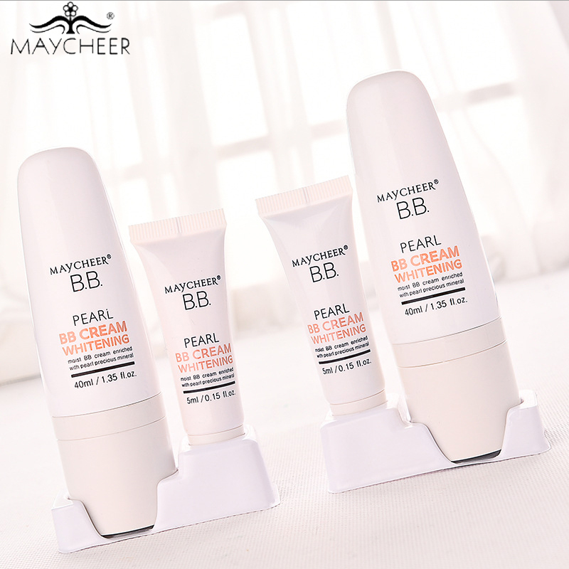 Pearl Light Sensation Mineral BB Cream Nude Make-up Cream Segregation Frost Persistent Moisturizing Brighten Face Makeup