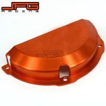 Заготовка CNC правая сторона двигателя чехол протектор для KTM EXC 250 300 EXC250 EXC300 2011 2012 2013 оранжевый мотоцикл