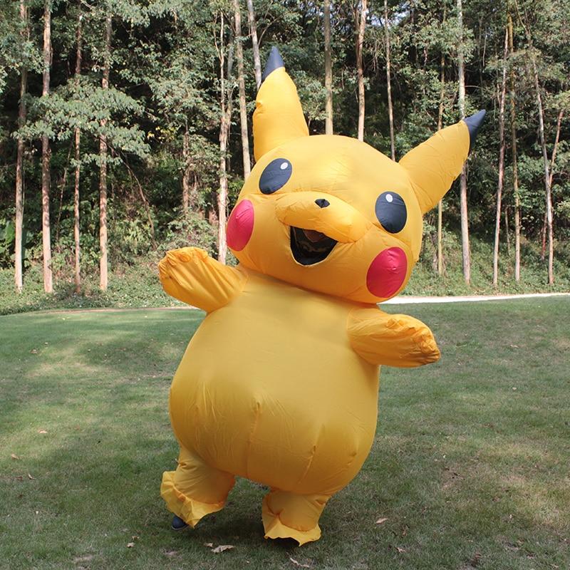 Nueva venta Traje inflable de Pikachu Fiesta de Navidad de Halloween - Disfraces