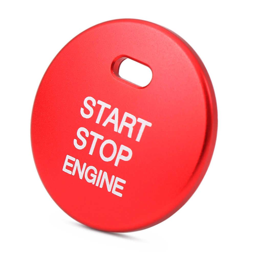 רכב סטיילינג אוטומטי מנוע להתחיל כפתור מערכת כיסוי טבעת צבעים מקרה עבור מאזדה Axela CX3 Atenza CX4 CX5 CX-5Stickers אבזרים