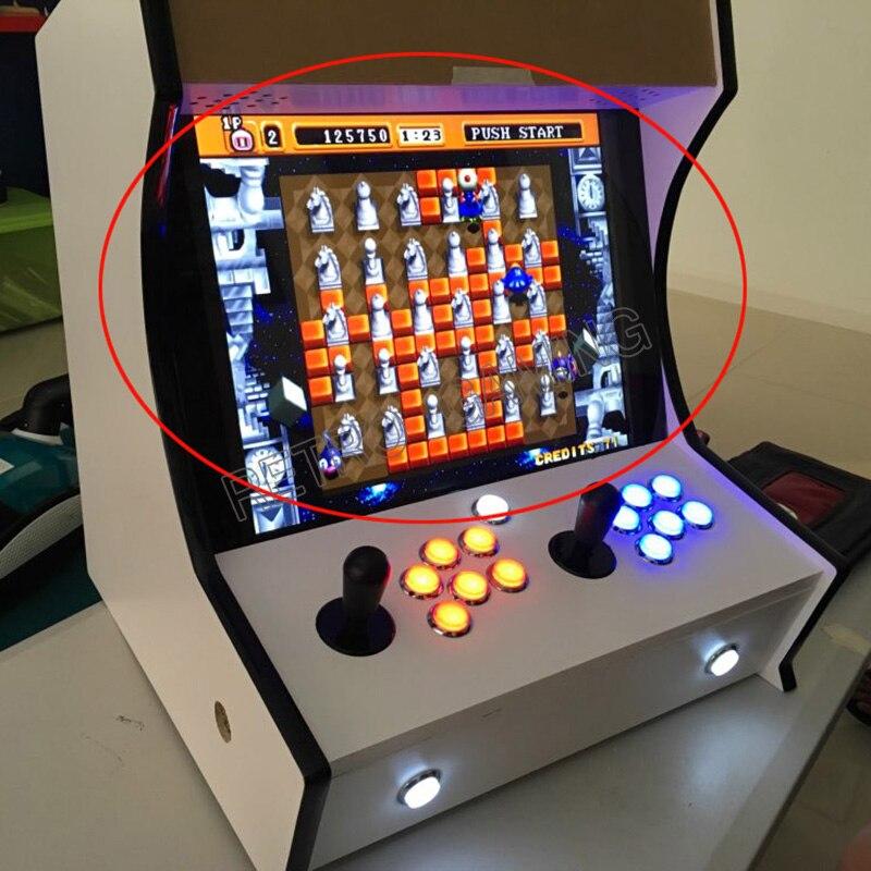 Moniteur de jeu d'arcade d'affichage de 19 pouces CGA/VGA/HDMI pour les machines de jeu d'arcade de bricolage