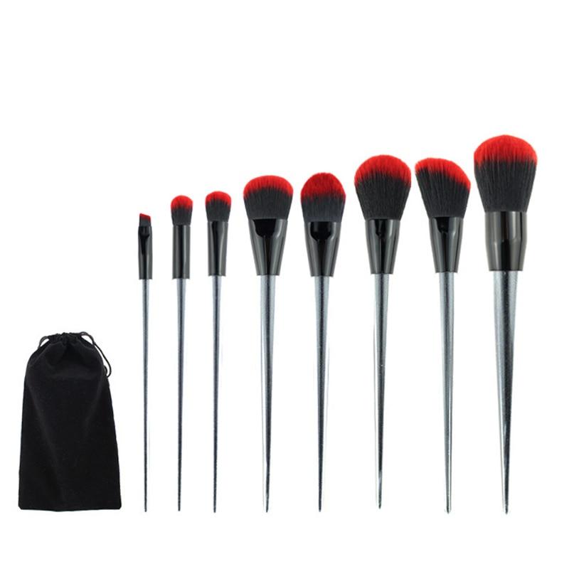 MSQ Pro 8pcs/set Makeup Brushes Kits For Women Make Up,Eye Face Lip Cosmetic Brush Beauty Tools Set + Case maquiagem msq pro mask makeup brush home diy facial face eye mask use soft mask brush treatment cosmetic make up brush beauty makeup tool