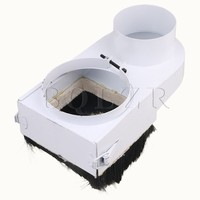 CNBTR 125mm Spindle Dust Shoe Cover For Woodworking CNC Router Milling Machine