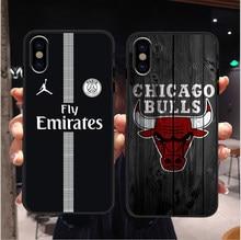 25d6366b6d5 Fly PSG Paris Football Jersey Jordan Sport Print Soft silicone TPU Phone  Case For iphone XS Max XR X 5 5s SE 6 6s Plus 7 8 plus