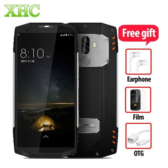 """Blackview bv9000 Pro 4 г смартфонов 6 ГБ + 128 ГБ 5.7 """"HD 18:9 полный Экран Восьмиядерный IP68 водонепроницаемый 8MP + 13MP Dual SIM Мобильные телефоны"""