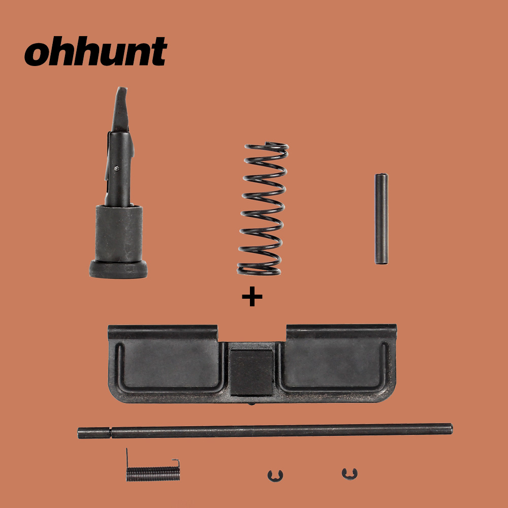 ohhunt Tactical Steel Airsoft .223 Forward Assist and Dust Cover Assembly Set for M4 M16 AR 15 Upper Receiver Parts Kits|Hunting Gun Accessories|Sports & Entertainment - title=