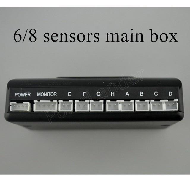 Us 6 98 12v Best Selling Car Detector Parking Sensor Kit 6 8 Sensors Main Box For All Cars Reverse Assistance Backup Radar System In Parking Sensors