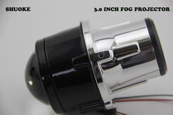 Бесплатная доставка shuoke 3.0 дюймов HID туман объектив проектора Ксеноновые противотуманных фар Проектор работает с D2H лампа фары