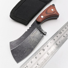 Fixed Blade Tactical Knife 440C Blade Wood Handle Survival Knife Camping Survival Utility Gift Knives Hunting EDC Tool стоимость