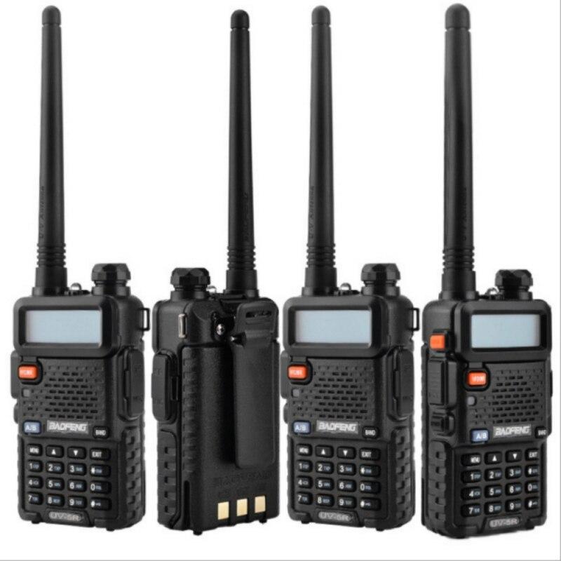 BaoFeng talkie-walkie UV-5R Radio bidirectionnelle CB Baofeng UV5R 128CH 5 W VHF UHF 136-174 Mhz et 400-520 Mhz