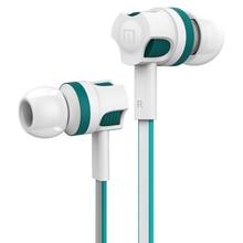 מקורי Langsdom JM26 wired אוזניות עבור טלפון סטריאו מיקרופון אוזניות בס אוזניות עם מיקרופון לטלפון נייד xiaomi ו eaphone