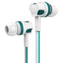 원래 Langsdom JM26 유선 이어폰 전화 스테레오 마이크 이어폰베이스 이어폰 마이크와 xiaomi 휴대 전화 및 eaphone