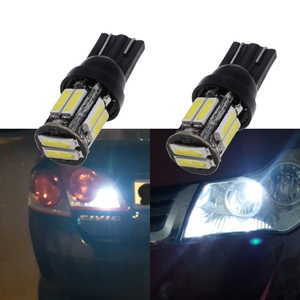 Auto Car T10 W5W 10Led 194 168 Wedge Dome Reading Led Reverse Turn Signal License Panel Lamp White Blue Car Door Clearance Light