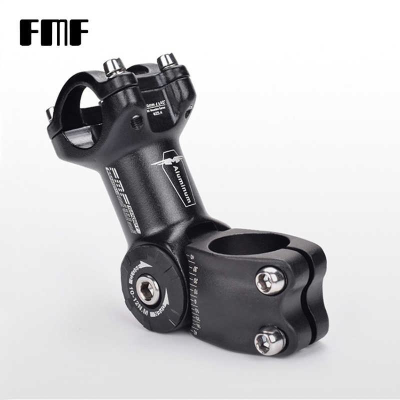 FMF 25.4//31.8mm Bicycle Stem Angle Adjustable Mountain Road Bike Handlebar Stem