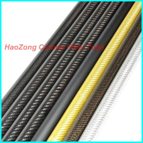 Shina 3K Roll Tube de fibre de carbone envelopp/é 12mm Matt 10mm x 12mm x 500mm Matt pour RC Quad