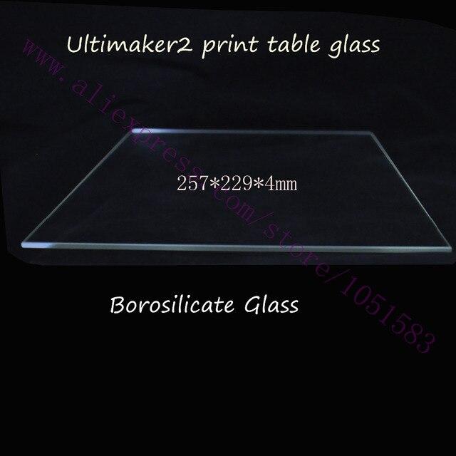 Acheter 3d imprimante ultimaker 2 table d for Acheter plaque de verre