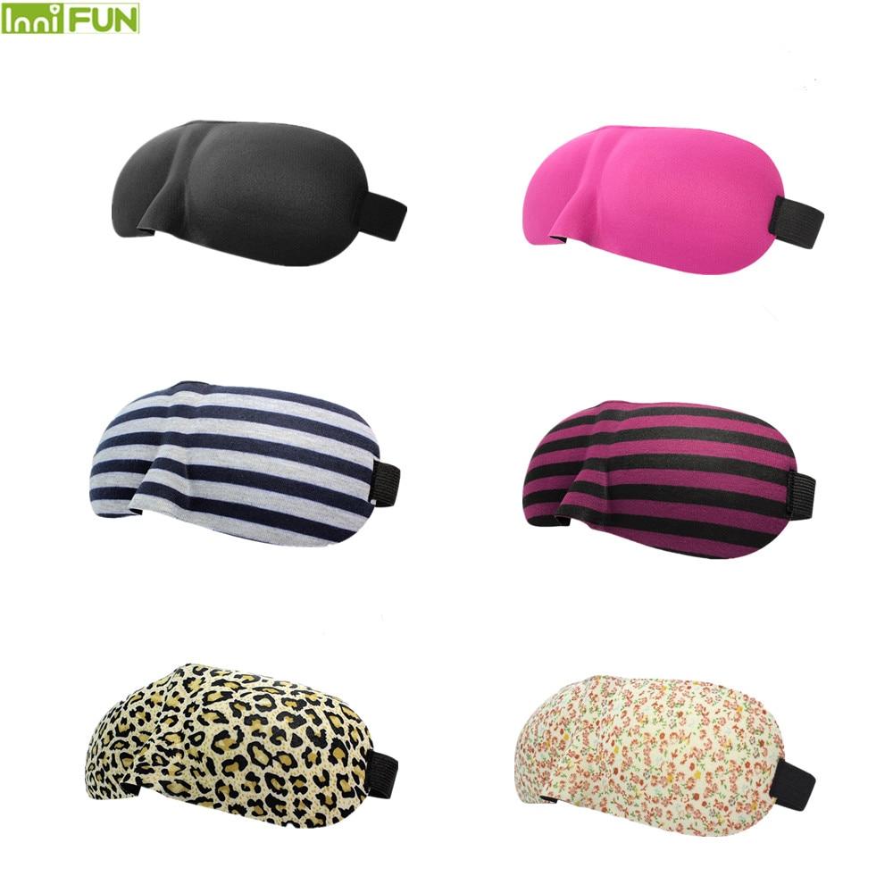 Travel Sambo 3D Eyeshade Travel Soveøjen Mask Black Shade Breathable - Sundhedspleje - Foto 1