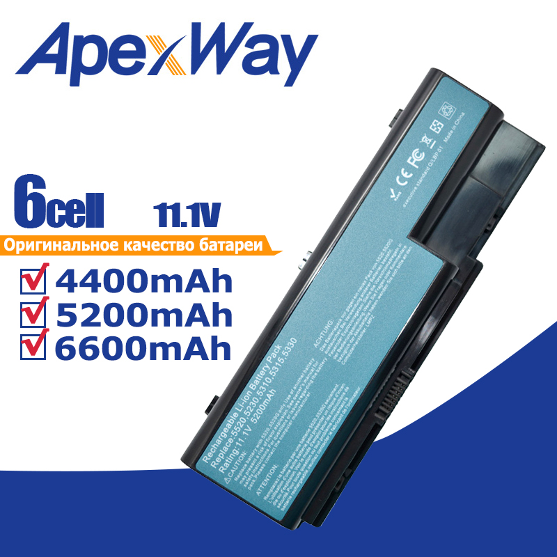 11.1V Battery For Acer Aspire 5230 5235 5310 5315 5330 5520 5530 7740G AS07B72 AS07B42 AS07B31 AS07B41 AS07B51 AS07B61 AS07B71