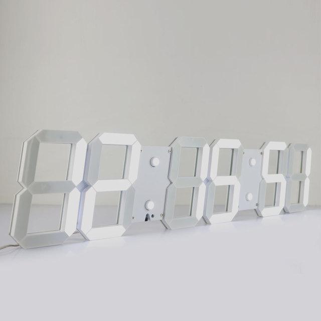 Aliexpresscom Buy CH KosdaLarge Digital Wall Clock Modern