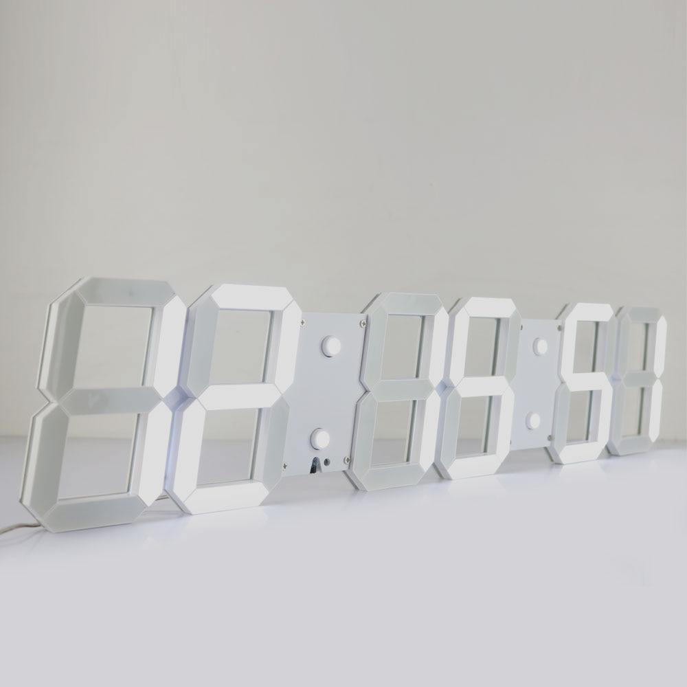 Promotion!Large Led Wall Clock Modern Design Show Time On The  In Living Room 3D Digital Big digital Display