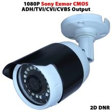 Security CCTV Video cam For hikvision/dahua DVR TVI/AHD/CVI/CVBS Output 1080P Sony IMX323 CMOS sensor surveillance bullet analog