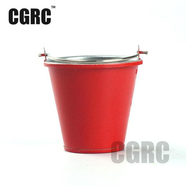 1/10 Simulation Decoration Metal Bucket For Tamiya Cc01 Axial Scx10 Rc4wd D90 Tf2 Traxxas Trx-4 Trx4 1/10 Rc Crawler