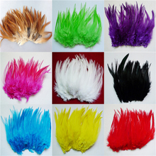 Graft-Accessories Plume DYED Pheasant DIY CUSTOMIZE Chose 13-Color 100pcs for Rooster