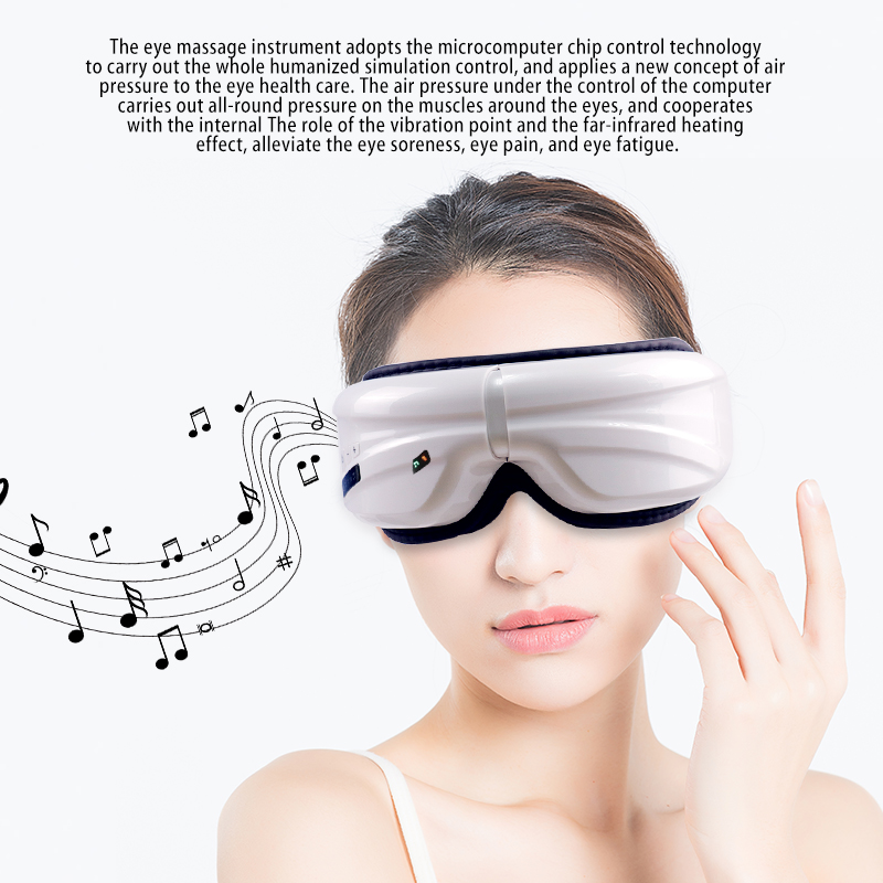 Music Electric Smart SPA Wireless Eye Massager Air Compression Eye Massage massage relax Air Pressure Eye Care Device SleepingMusic Electric Smart SPA Wireless Eye Massager Air Compression Eye Massage massage relax Air Pressure Eye Care Device Sleeping