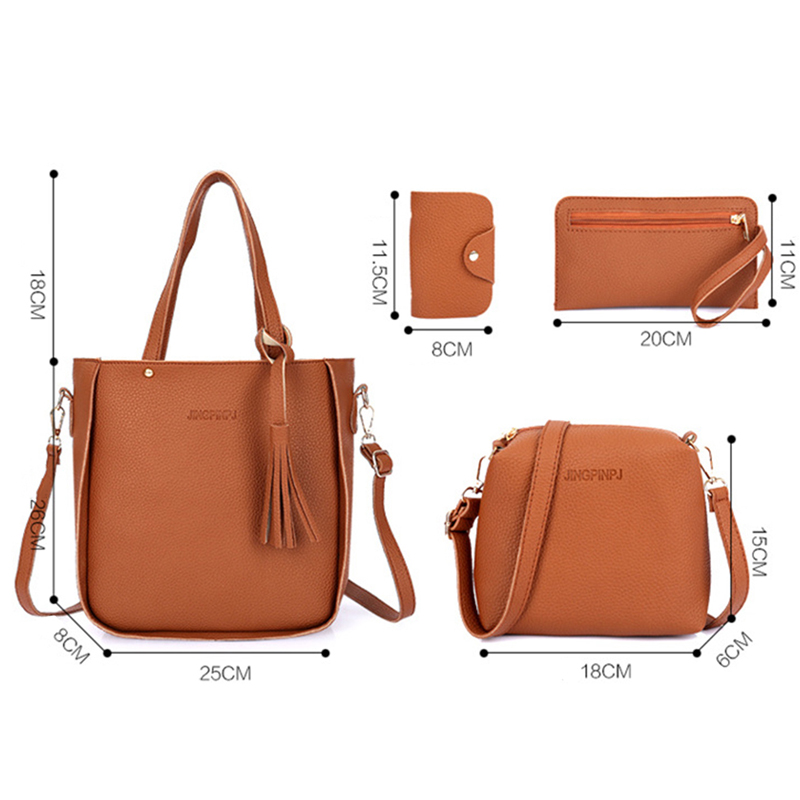 Women Top-Handle  Composite 3-Set Bag 13