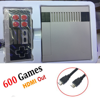Mini Game Console Retro  TV Handheld Game Console For Nes Games Built-in 600 Different Games With HDMI Output PAL&NTSC