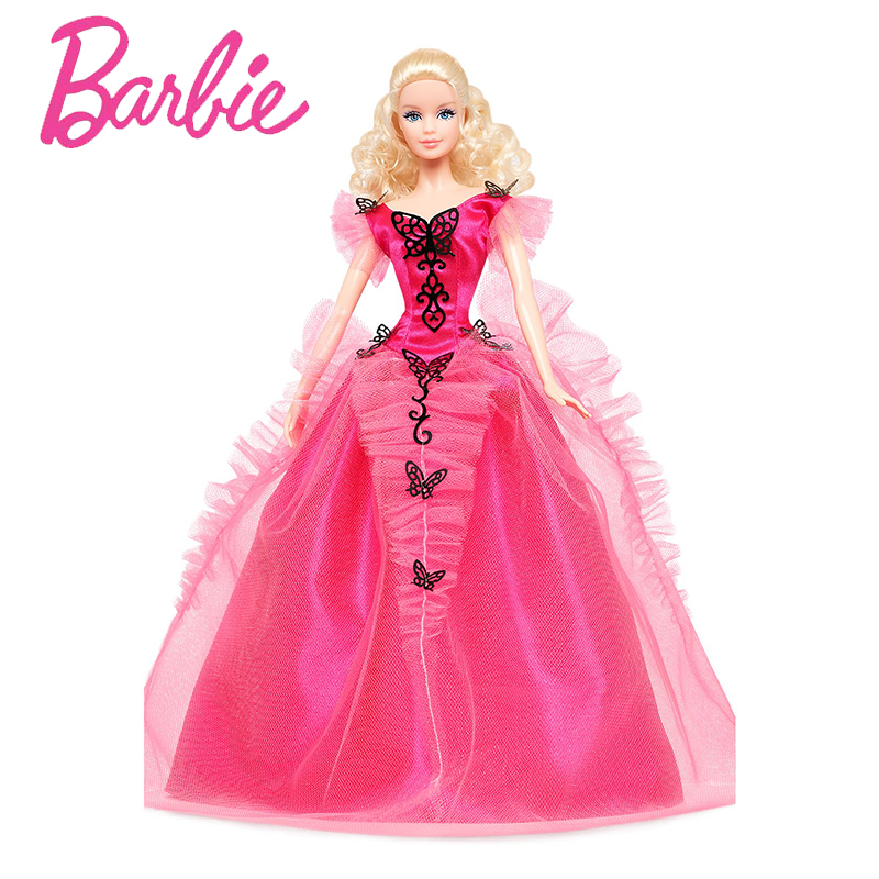 Original Barbie Doll Limited Collector 's Edition Butterfly Ylamour Toy Girl Birthday Present Girl Toys Gift Boneca X8270