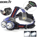 Headlight 5000 Lumens 2x XM-L T6 LED Headlamp Head Lamp Light 2 T6 Outdoor Lanterna frontal led USB By 1*18650 /3*AA/3*AAA
