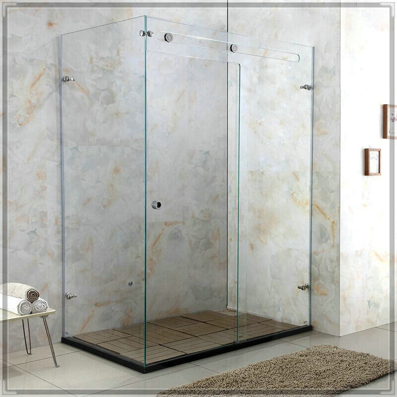 Luxury Crystal Gl Shower Room Cabin Door Enclosure Customize Size Water Bathroom Faucet In Rooms From Home Improvement