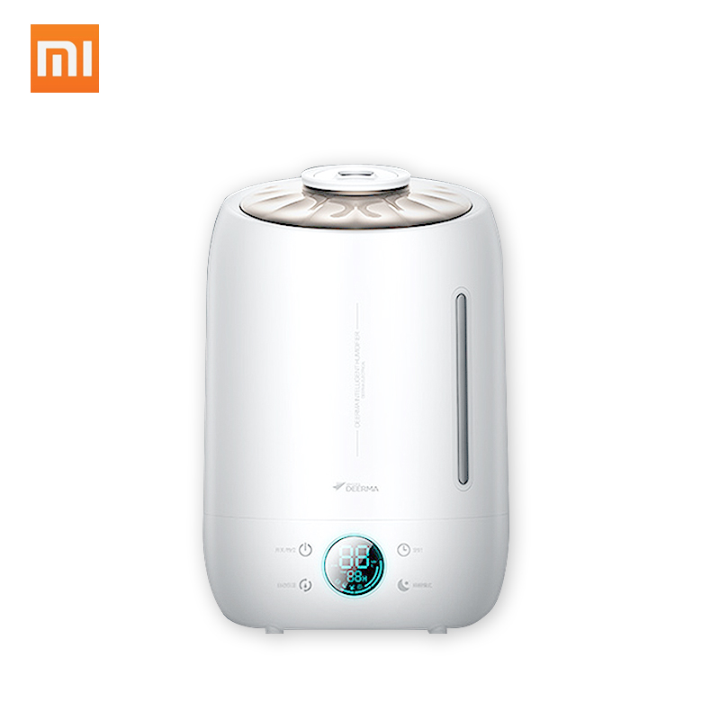 Original Xiaomi Deerma DEM F500 Air Humidifier 5L Large Capacity Quiet Aroma Ultrasonic Fog Creator