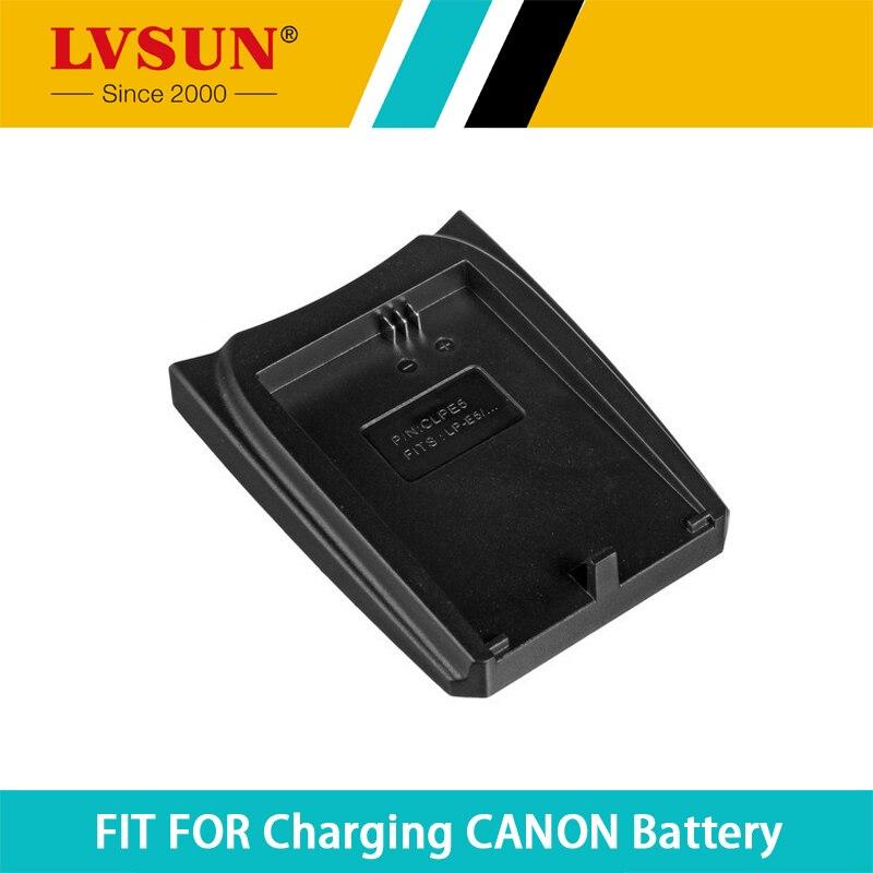 LVSUN LP E5 LPE5 chargeable Battery Adapter Plate Case for CANON 450D 500D 1000D KISSX2 KISSX3