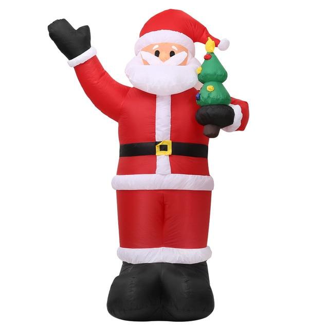 Cute Xmas Santa Clau Snowman outdoor christmas decorations 5c64f4446186e