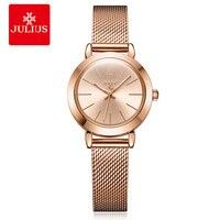 Brand Luxury Women Watches Ladies Casual Quartz Watch Female Clock Silver Stainless Steel Bracelet Dress Relogio Feminino JA 732