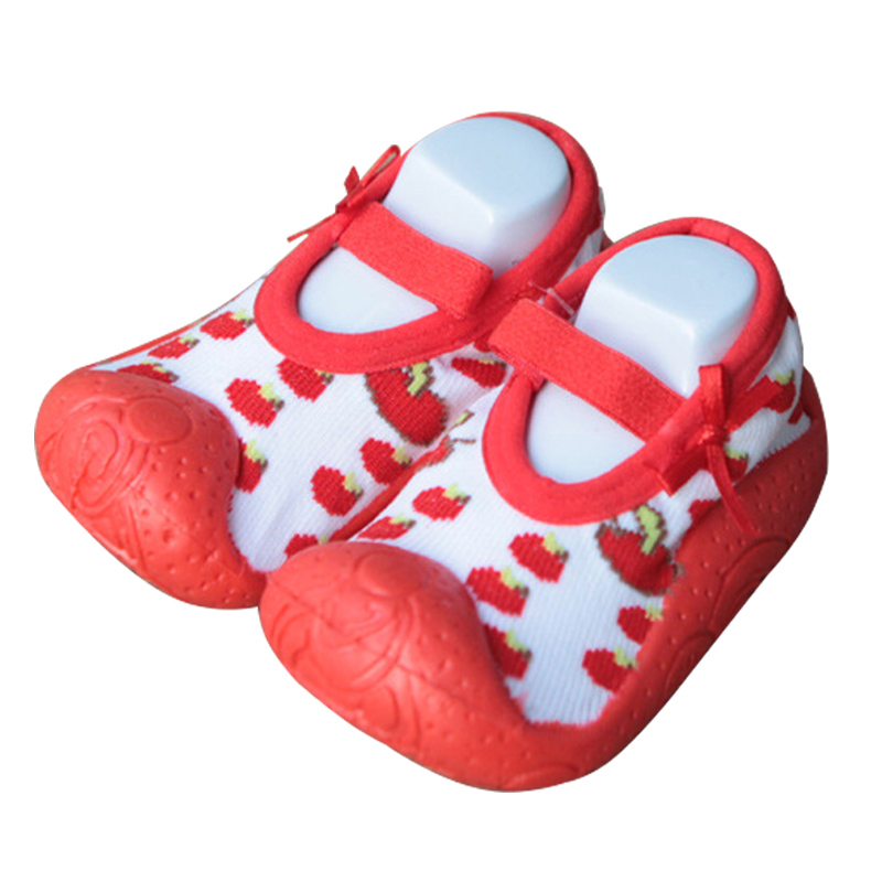 KiDaDndy Children First Walkers Anti-Slip Toddler Shoes Breathable Non Skid Baby Girls Shoes Soft And Comfortable LL832