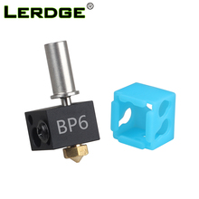 LERDGE 3D Printer BP6 Hotend J-head Parts 0.4mm 1.75mm Nozzle High Temp and Low Temp Replace V6 Accessories Extruder Kit