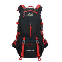 Пеший Туризм рюкзак 50L рюкзаки водонепроницаемый рюкзак для кемпинга Тренажерный Зал Сумка для путешествий Для женщин большой Спортивные