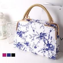 Heißer Verkauf 2016 Neue Mode Frauen Handtaschen Floral Lackleder Tasche Frau Leder Handtaschen Frauen Umhängetasche Lässig Tote 8003