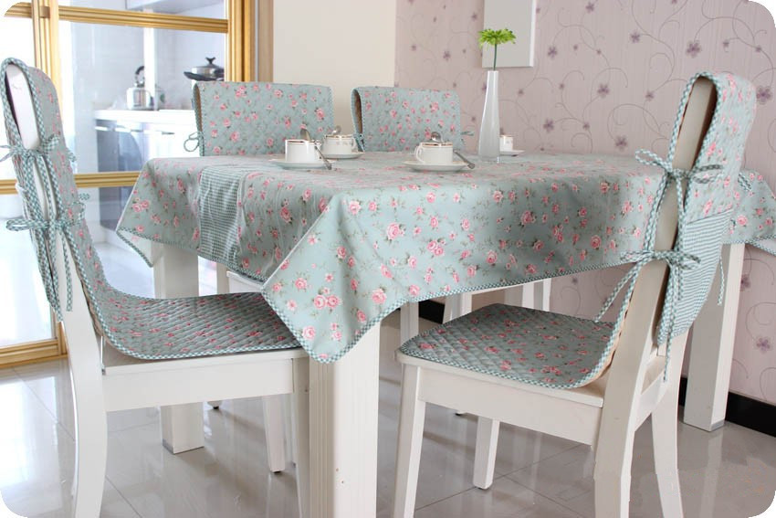 2016 New Arrivals Tablecloth Cotton Printed Flower Pattern Dinning Table Cover Chair Cover Cushion Computer Refrigerator Cover