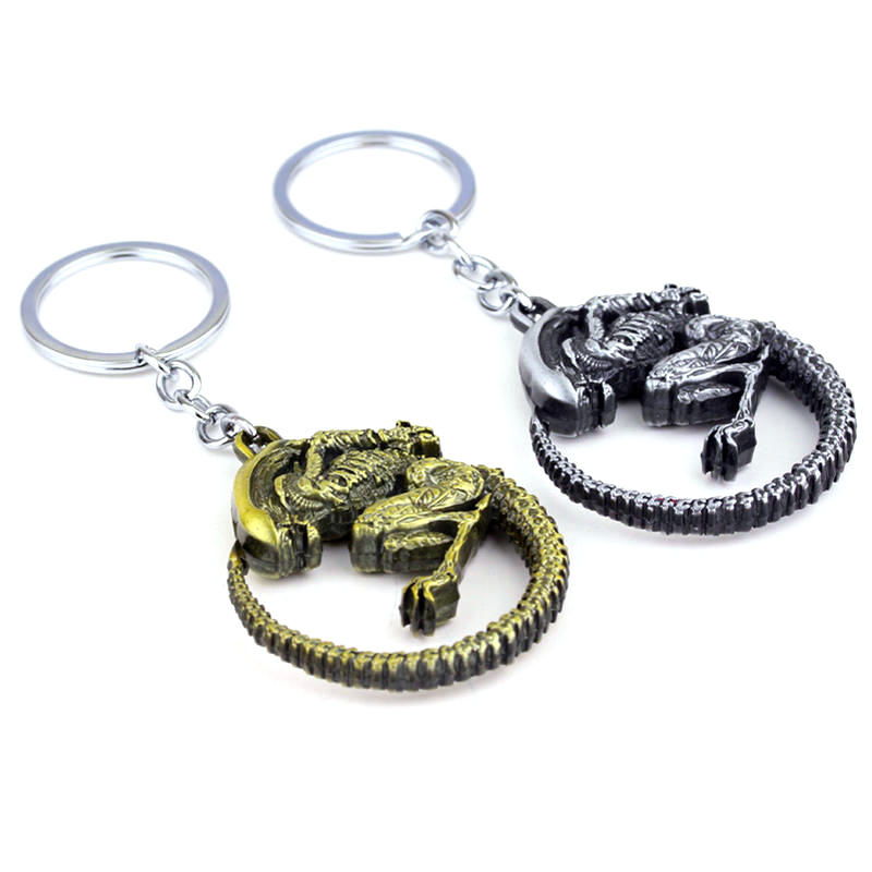 Movie mode Predator Keychain untuk hadiah, Chaveiro keyring, - Perhiasan fashion - Foto 3