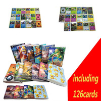 126 Cards Capacity Cards Holder Binders Albums For Pokemon Game Cards Book Sleeve Holders Including 126