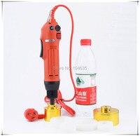 ציוד כף יד מכונת איטום אריזת בקבוקי בקבוק מכונה מכסת מזון מותחן מכסה מכסת קוטר 10-50 מ